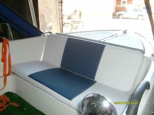 как сшить сиденье для лодки